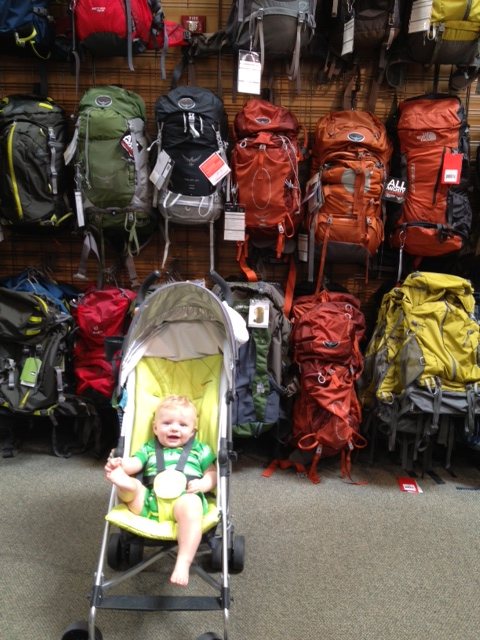 1c69520b8cc Someday, Little Man, you will have a great rucksack for your travels.