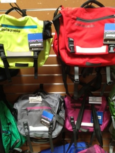 4adec95c5e9 The REI Tranquility Shoulder Bag and the Patagonia MiniMass Messanger. The  yellow messenger would be perfect as a stroller bag for our Uppababy G-LiTE  in a ...
