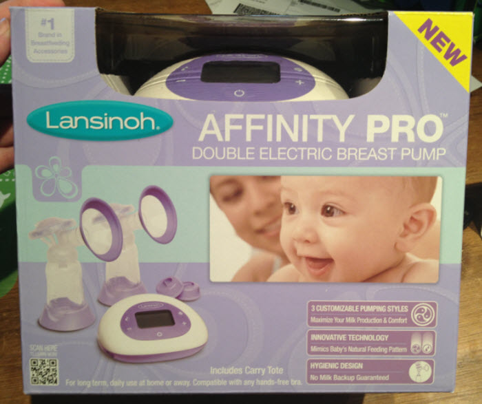 Lansinoh Affinity Pro Double Electric Breast Pump Review Little